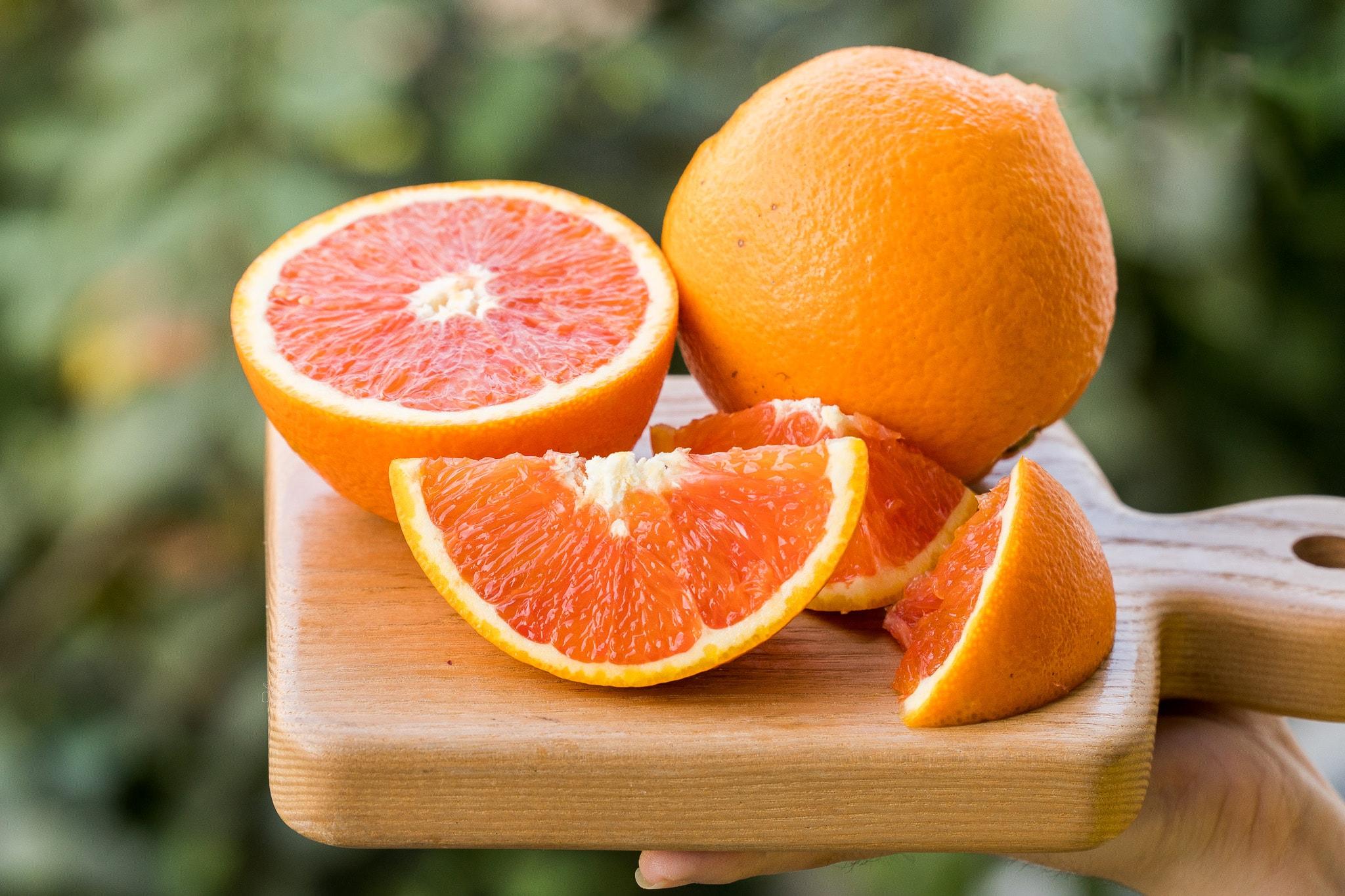 Cam ruột đỏ Mỹ - Cam dành cho người sành ăn | Fuji Fruit | Hệ thống hoa quả  sạch nhập khẩu Fuji