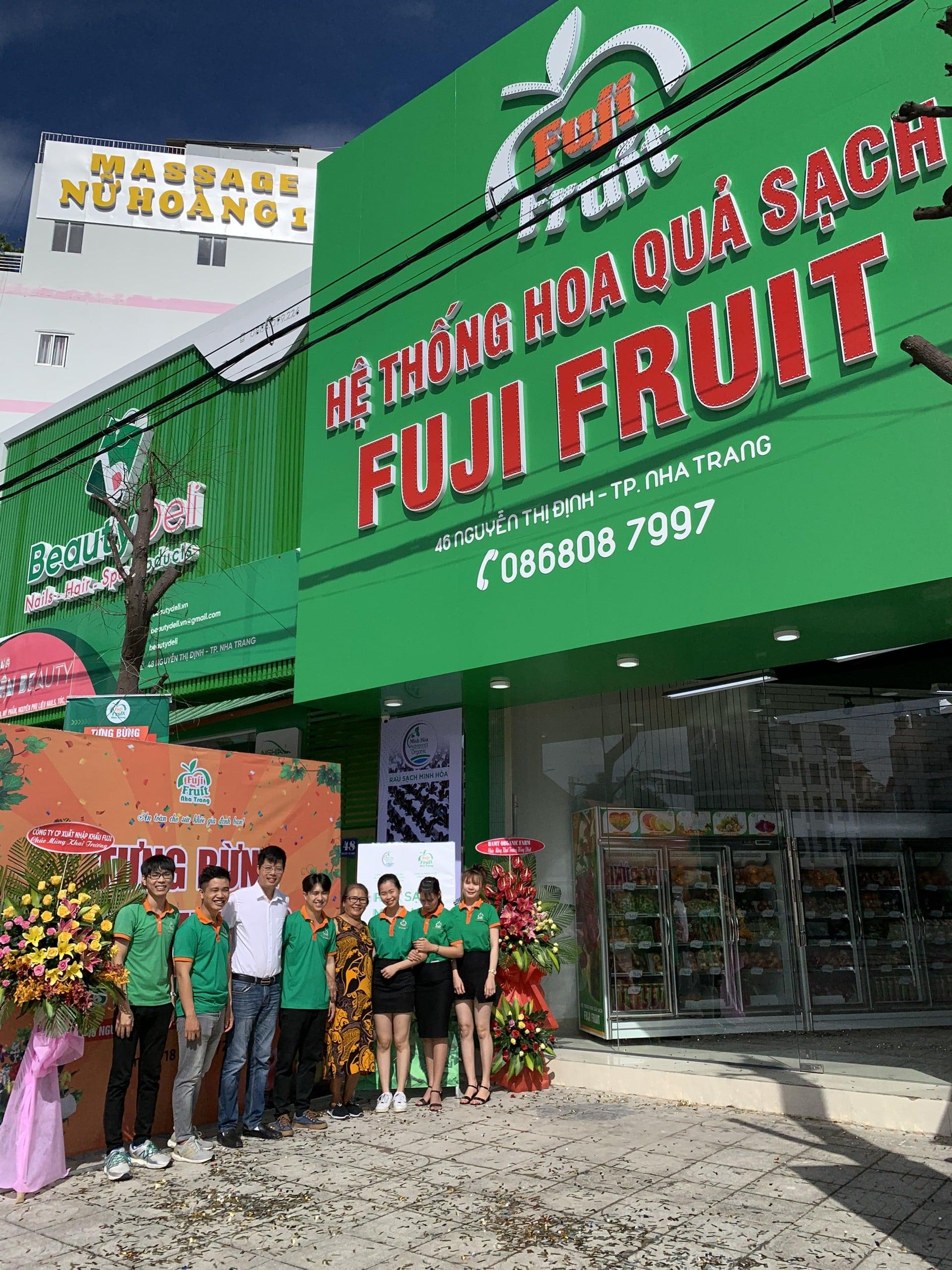 TƯNG BỪNG KHAI TRƯƠNG HQS NHA TRANG 4 | Hệ thống hoa quả sạch nhập khẩu Fuji