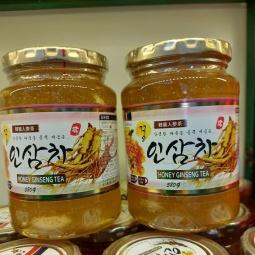 Sâm lát tươi ngâm mật ong hàn quốc