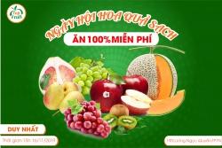 Ngày hội ăn miễn phí siêu trái cây tại Fuji Thái Nguyên