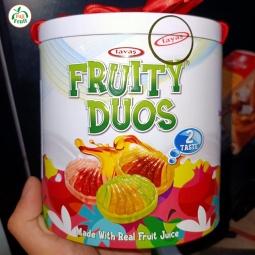Kẹo nhân trái cây fruity duos