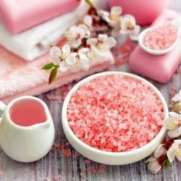 Muối hồng hạt Himalaya